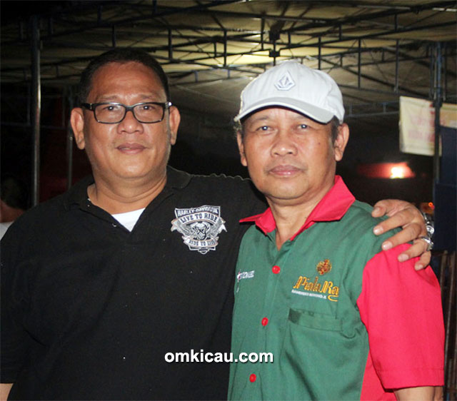 Plaza Cup 3 Semarang - Om Esnawan SH bersama Bang Boy.