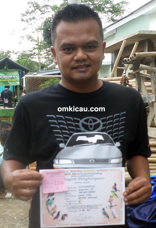 Sabtu Spesial GBA Banjarnegara - Braham: Cucak hijau Schizoprenia juara 2.