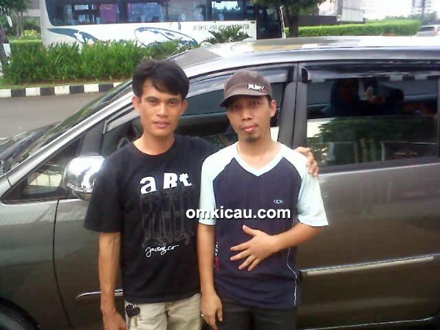 Foto Breeding Matena BF Jakarta Bersama Om Amu (kanan) Bersama Om Darlian-2
