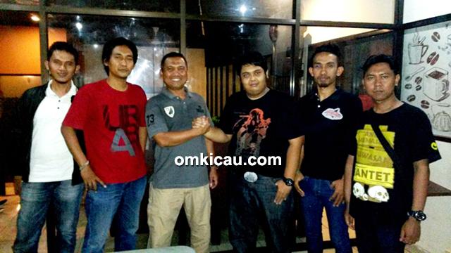 Om Fahmi dan Kapolres Depok