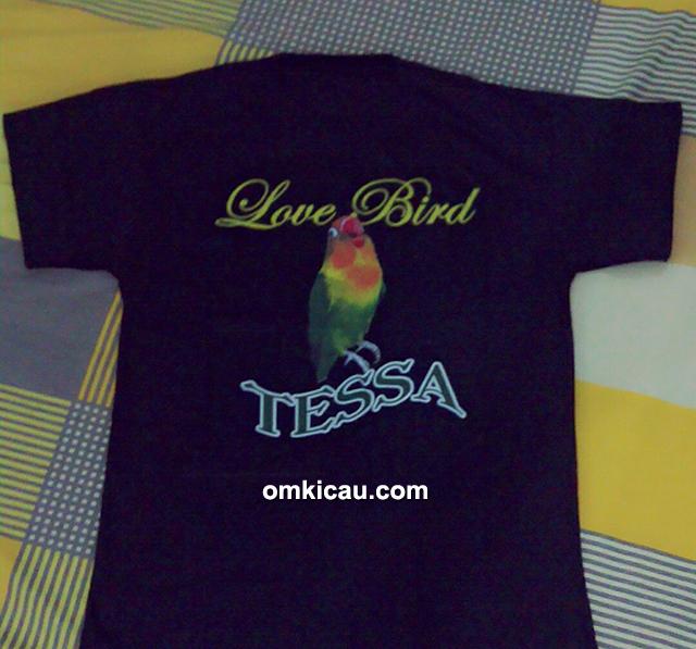 kaos lovebird Tessa