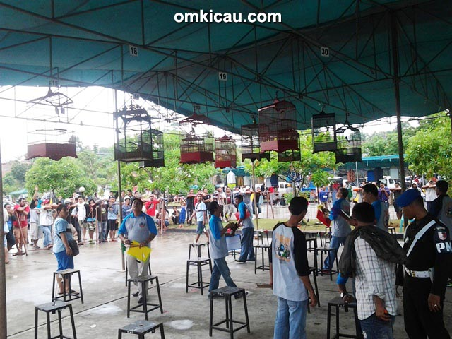 Suasana lomba cendet di YnC Cup 2 Balikpapan