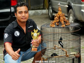 Latpres Arjuna Team - Kru Mr Kurniawan bersama kacer Black Zerro.