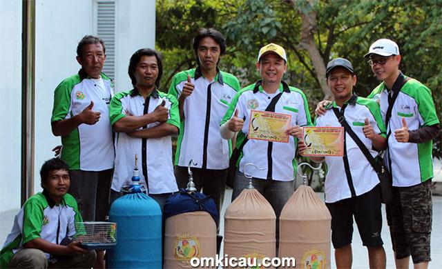 Plaza Cup 3 Semarang - Luwes BC Solo siap menurunkan amunisi lovebird terkuatnya.