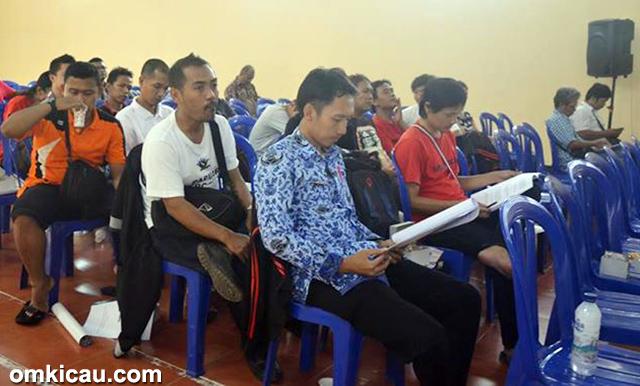 Acara Meet & Share yang digelar Papburi Cilacap, Sabtu (17/1)