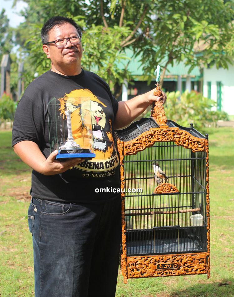 Mr Fajar Bali dan cendet New Peterpan