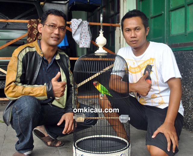 BMKM Magelang - NS Dedy (kanan) sukses orbitkan gaco baru LB Janda Kembang.