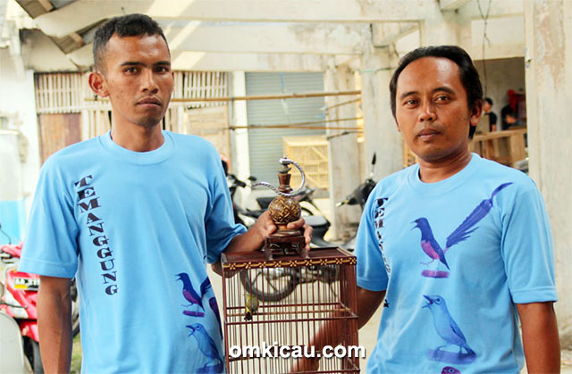 BMKM Magelang - Rudi Wowor (kanan): Pleci Kipas Sakti kembali nyeri.