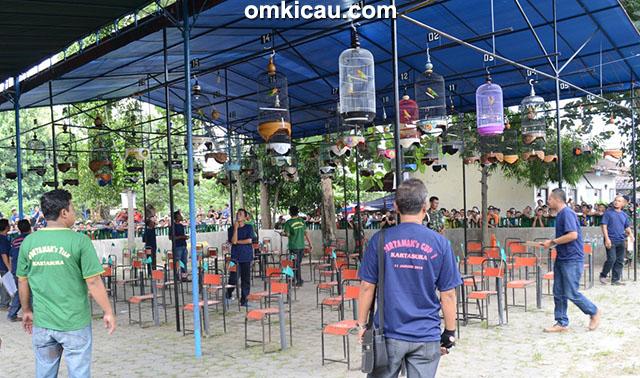 Suasana lomba Pertamak's Cup di Kartasura