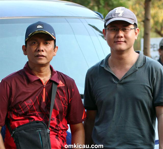 Plaza Cup 3 Semarang - Tatuk Graha dan WW Angga dari Jatim Raya Team.