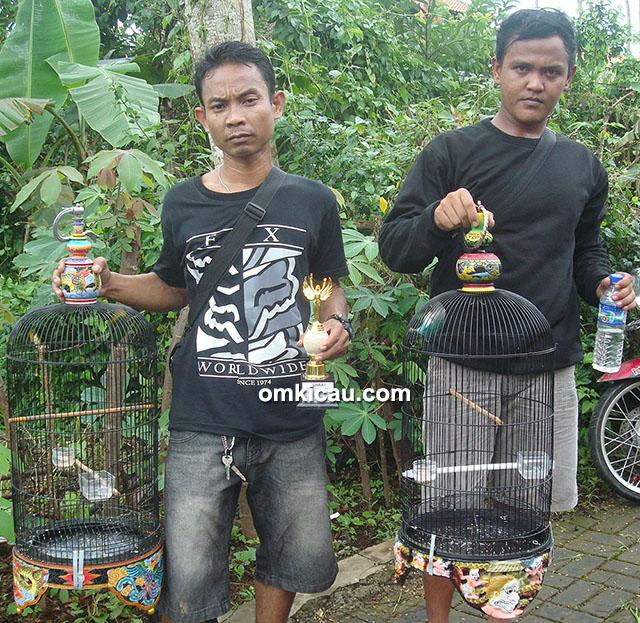 Sabtu Spesial GBA Banjarnegara - Unggul Cristal Bancar kuasai juara 1-2 di dua sesi lovebird.