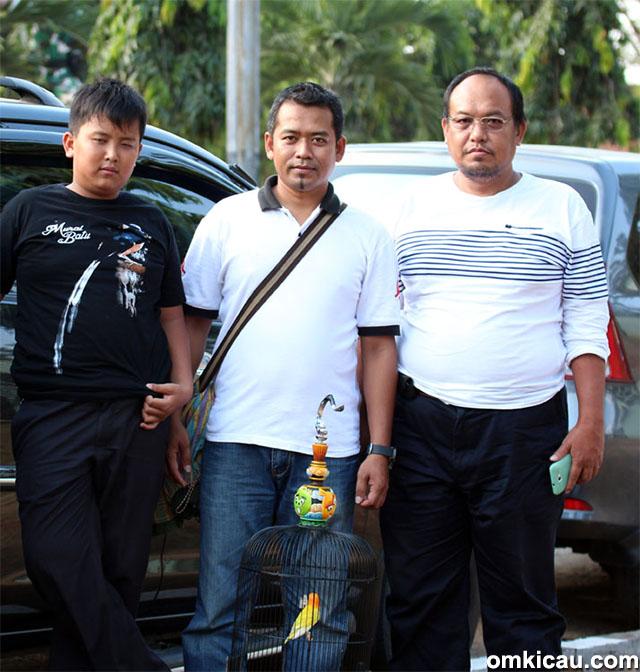Plaza Cup 3 Semarang - Zamhudi Batam, pemilik lovebird City, siap terbang ke Kota ATLAS.