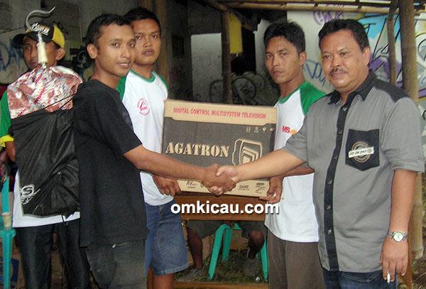 Sabtuan GBA- doorprize TV