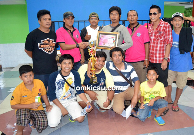 Duta Soeharto juara umum BC