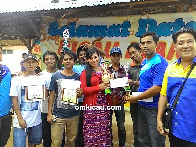 Muara Dua Team juara umum BC