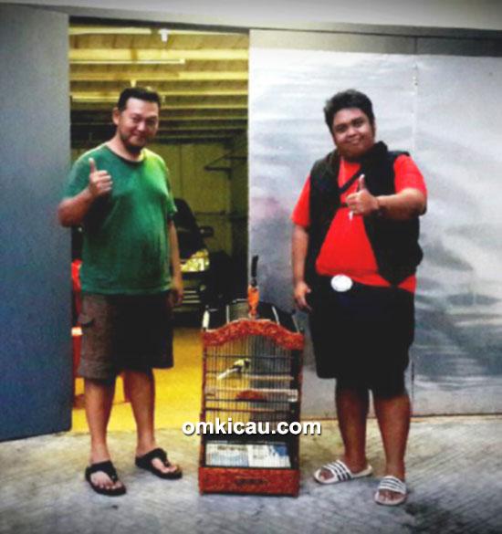 Om Fahmi bersama Om Joko TJM