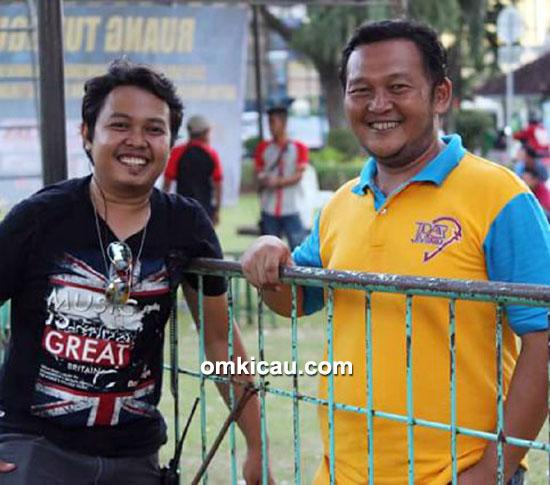 Foto Kicau Kenari Fahmi 2015 Om Joko (kanan) dan Om Bayu-3