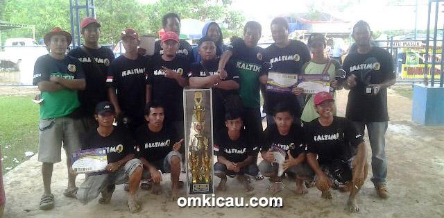 Pelangi BC juara umum bird club