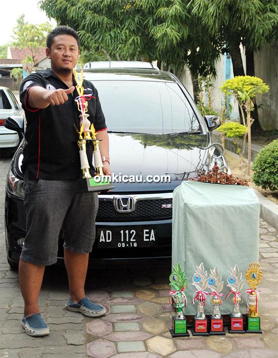 Mr Kurniawan dan kacer New Predator