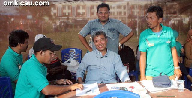 Om Yogi Prayogi KM dan Om Rizal Cikarang