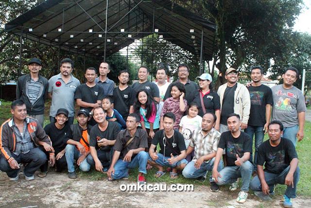 Panitia New Bravo dan Juri Team 45
