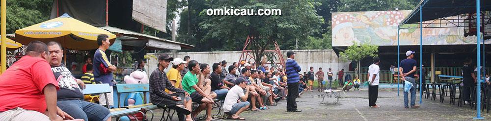 Suasana kontes Independen 1 di Semarang