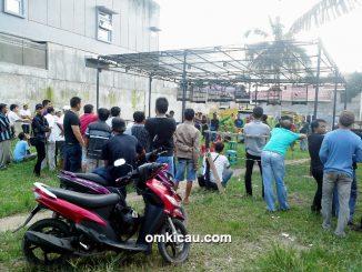 Suasana Latihan Special Pesona Jambi