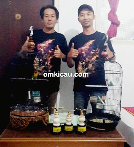 Amin MSF dan Toni Ho
