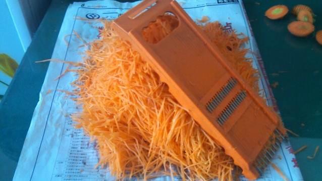 wortel di parut