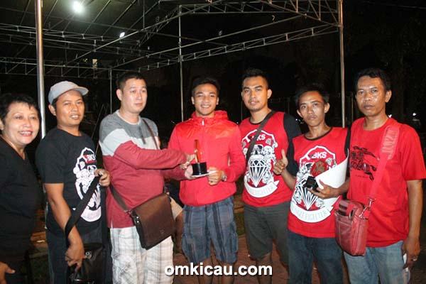 H Fitri BKS juara umum 2 SF