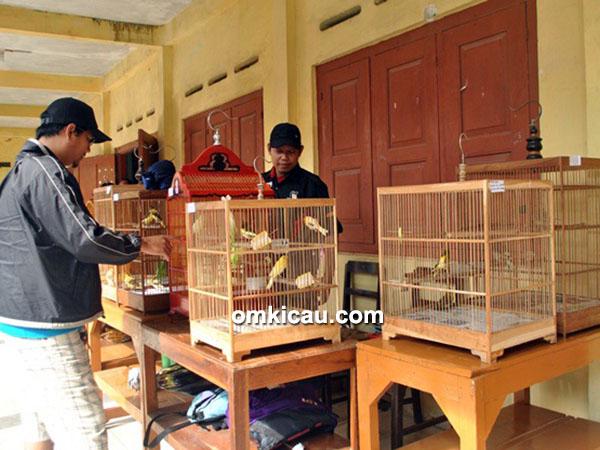Bazaar kenari PPK-3 Jakapodang