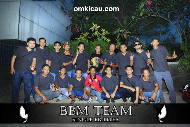 Para personel BBM Team