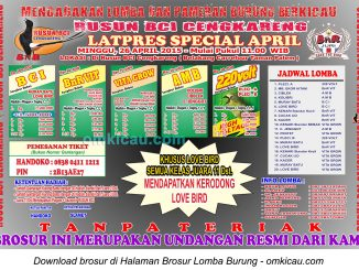 Brosur Latpres Special April - Rusun BCI Cengkareng, 26 April 2015