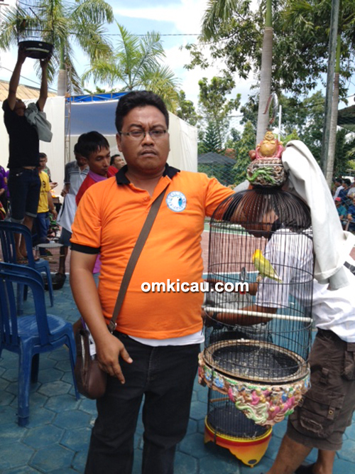 Lovebird Momo milik Om Jimmy Serma (Jakarta)