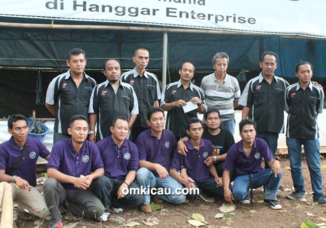 Panitia dan juri Hanggar Enterprise