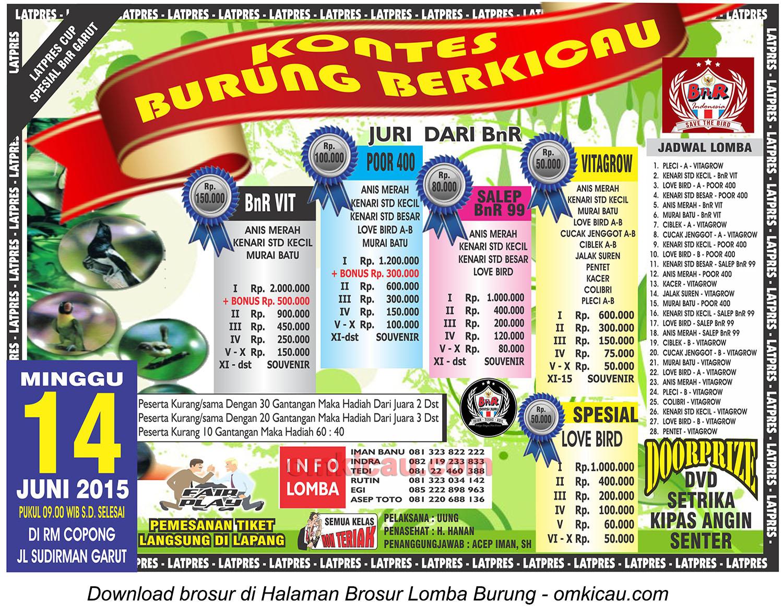 Brosur Latpres Spesial BnR Garut, 14 Juni 2014