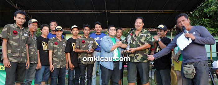 Naga Hitam juara umum BC