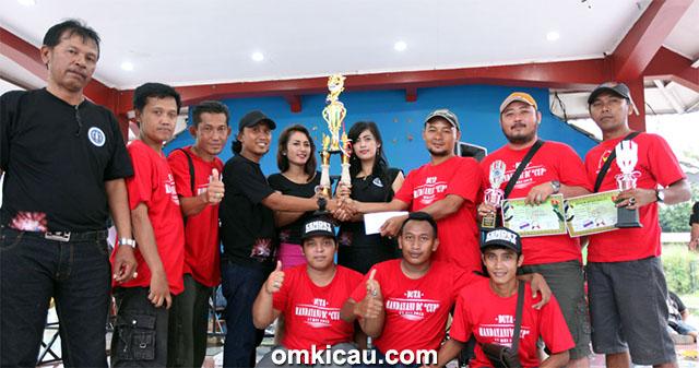 Duta Handayani juara umum BC