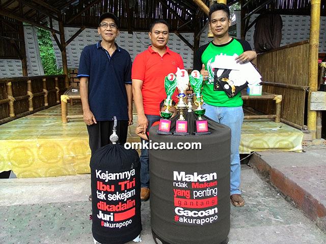 Liwa BC juara umum Baturaja Berkicau Cup