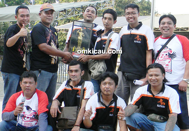 Mr Baim juara umum SF