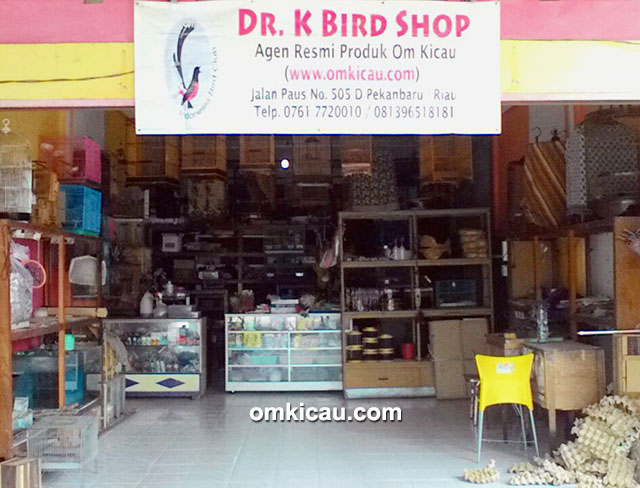 Agen produk Om Kicau di Pekanbaru