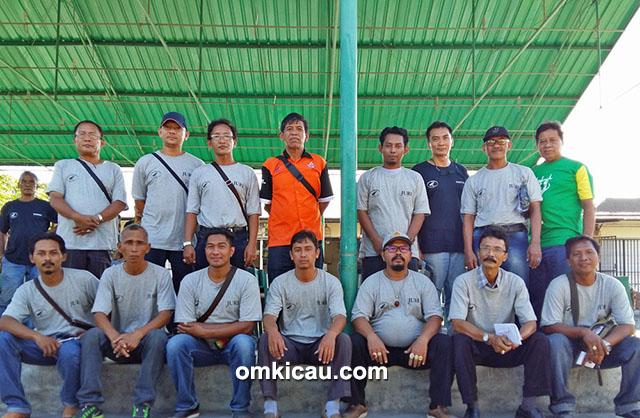 Tim juri PBI dari Bali dan Lombok