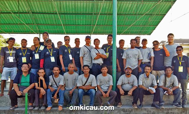 Panitia dan juri Ramadhan Cup 2015.