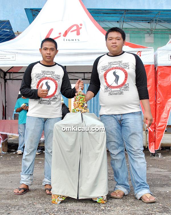 Amandit BC juara umum tim
