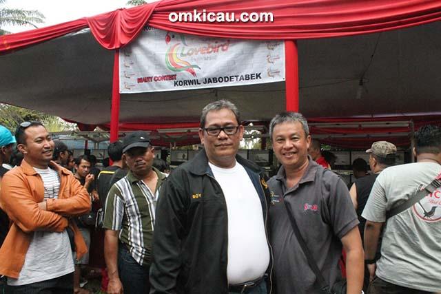 Foto Lomba BnR Award Bang Boy dan Om Ben KLI Gelar Lovebird Beauty Contest-9