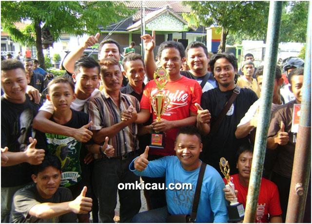 Garasi BC Pemalang juara umum