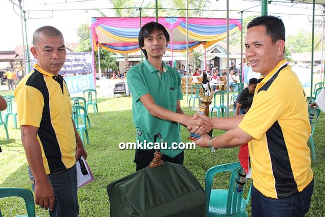 Lomba burung berkicau Kapolres Cup Lampung Barat