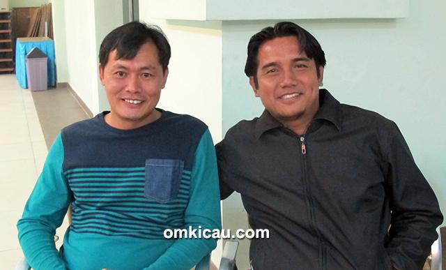 Om Akia bersama Om Said BH