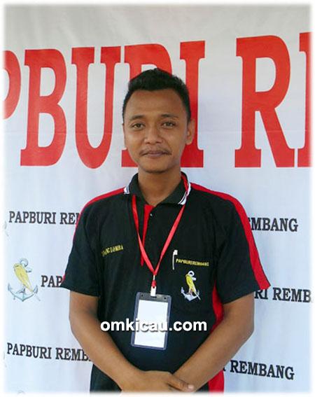 Om Kecik, ketua Papburi Rembang
