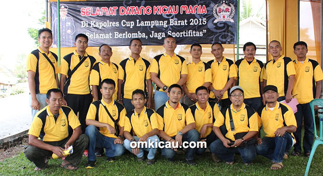 Panitia Lomba Kapolres Lampung Barat Cup
